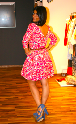 hm pembe elbise 3