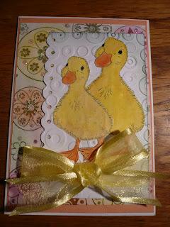 fuzzy duck digital stamp