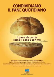 pane quotidiano Condividiamo il pane quotidiano, proposta del Sermig di Torino