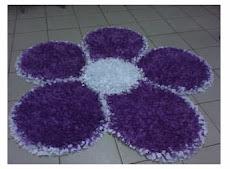 Tapete en forma de flor