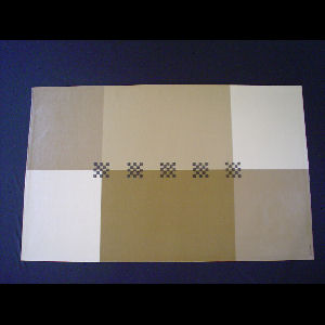 Beige Brown Blocks - Sold