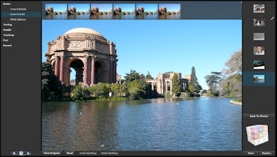 Photoshop Express Beta in action