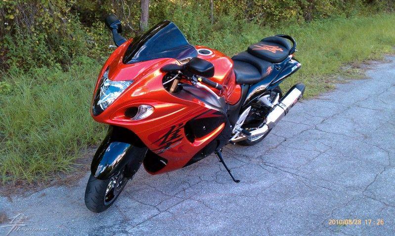 motorcycle reviews suzuki hayabusa red