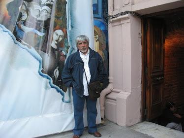 En la galería de arte municipal de Valparaíso (Diciembre-2010)