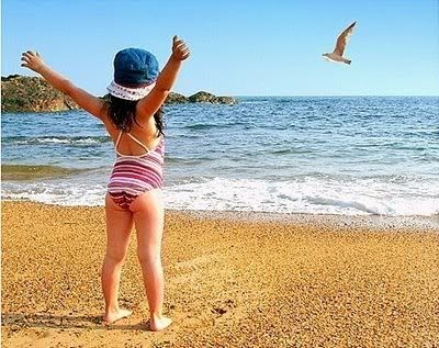 Fabiana at sea...