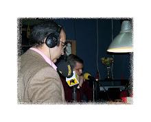 Con Salvador Gavira.