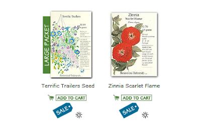 botanical interests seed packs