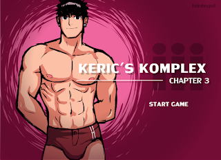 Preview of Keric's Komplex Chapter 3 Title Screen
