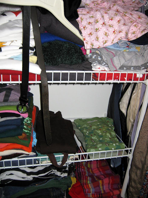 operation: salvage wardrobe, closet remains
