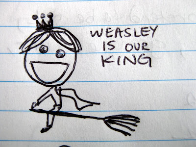 weasley is our king ron quidditch