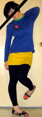 primary colors outfit, Old Navy, United Colors of Benetton, Forever21, Qupid