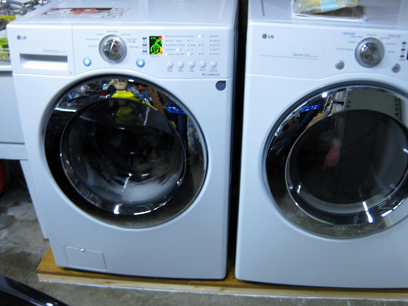 front-load washer and dryer