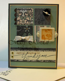 stampin up, nouveau chic, card