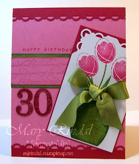 stampin up, card, mojo monday