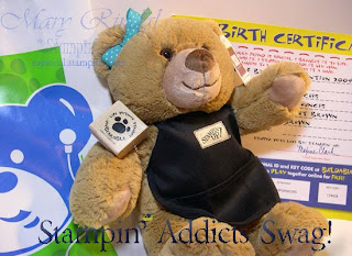 stampin addicts, build a bear, stampin up convention