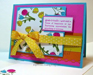 stampin up, saleabration, happy moments