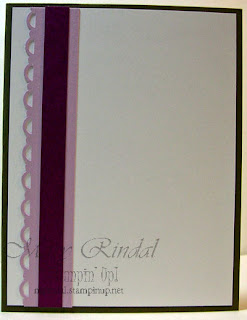 stampin up, sympathy card