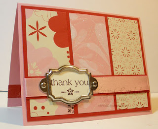 stampin' up occasions mini with all my heart