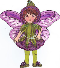 Carnation Fairy Paper Doll
