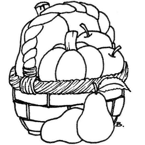 Beccy 39 s place harvest set for Free harvest coloring pages
