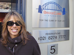 Getting ready to climb the Sydney Harbour Bridge