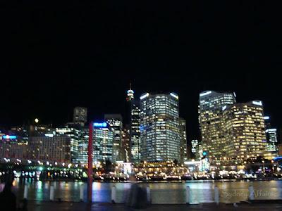 Darling Harbour Night Sunset, Sydney, Australia