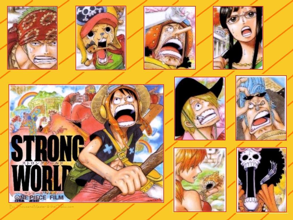New One Piece Strong World Wallpaper