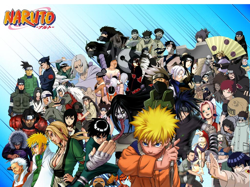 Anime Characters Naruto : All naruto character wallpaper anime wallpapers zone