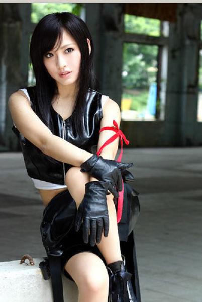 Final fantasy cosplay tifa - photo#4