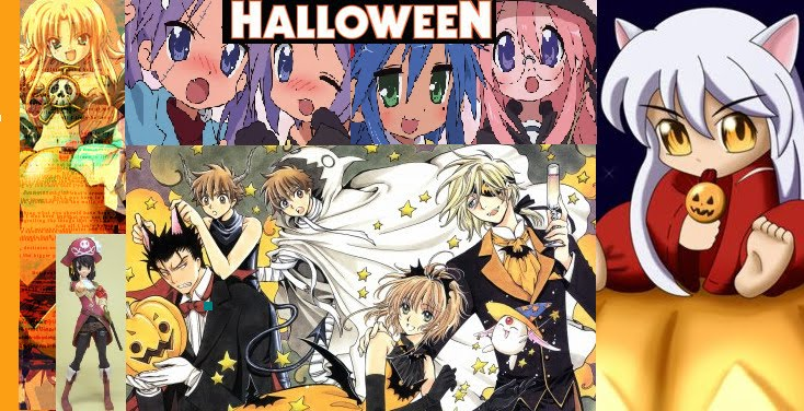 ANIME MAGAZINES: Hallowen Anime Picture