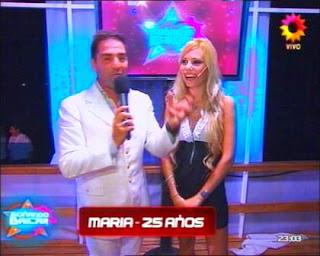 María Laspiur: Soñando por Bailar 2011.