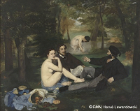 le djeuner sur l'herbe de Manet