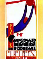 Affiche Coupe du monde Uruguay 1930