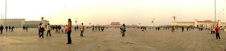 Place Tiananmen vue panoramique