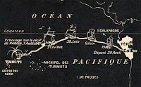 Itinéraire du Kon-Tiki