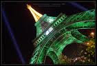 Tour Eiffel  vert rugby