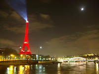 Tour Eiffel Rouge Chine