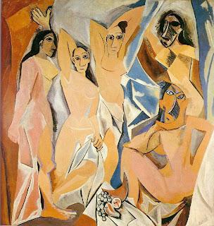 Les Demoiselles d'Avignon de Picasso