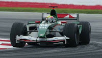 F1 Jaguar Racing Mark Webber