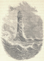 Phare Bell Rock dessin