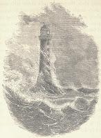 Phare Bell Rock dessin