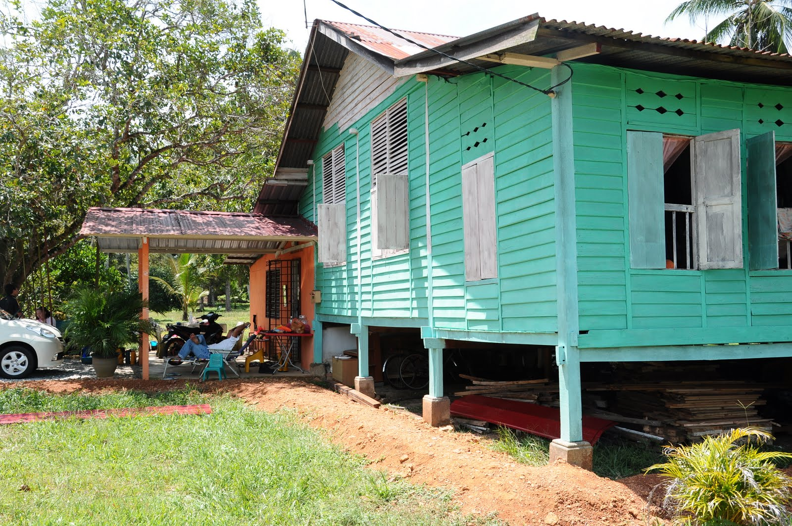 rumah warna hijau muda submited images pic2fly