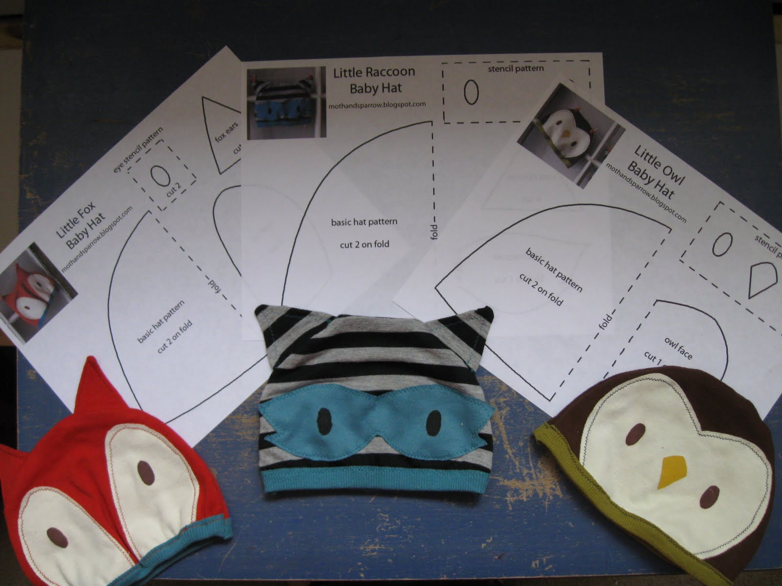 Free Baby Animal Hat Patterns