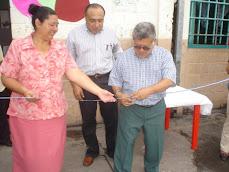 Centro Escolar Católico Esteban Alliet recibe al artista Vicente Vela