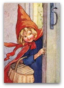 Colorare La Vita By Ivana V Poletti Cappuccetto Rosso Versione