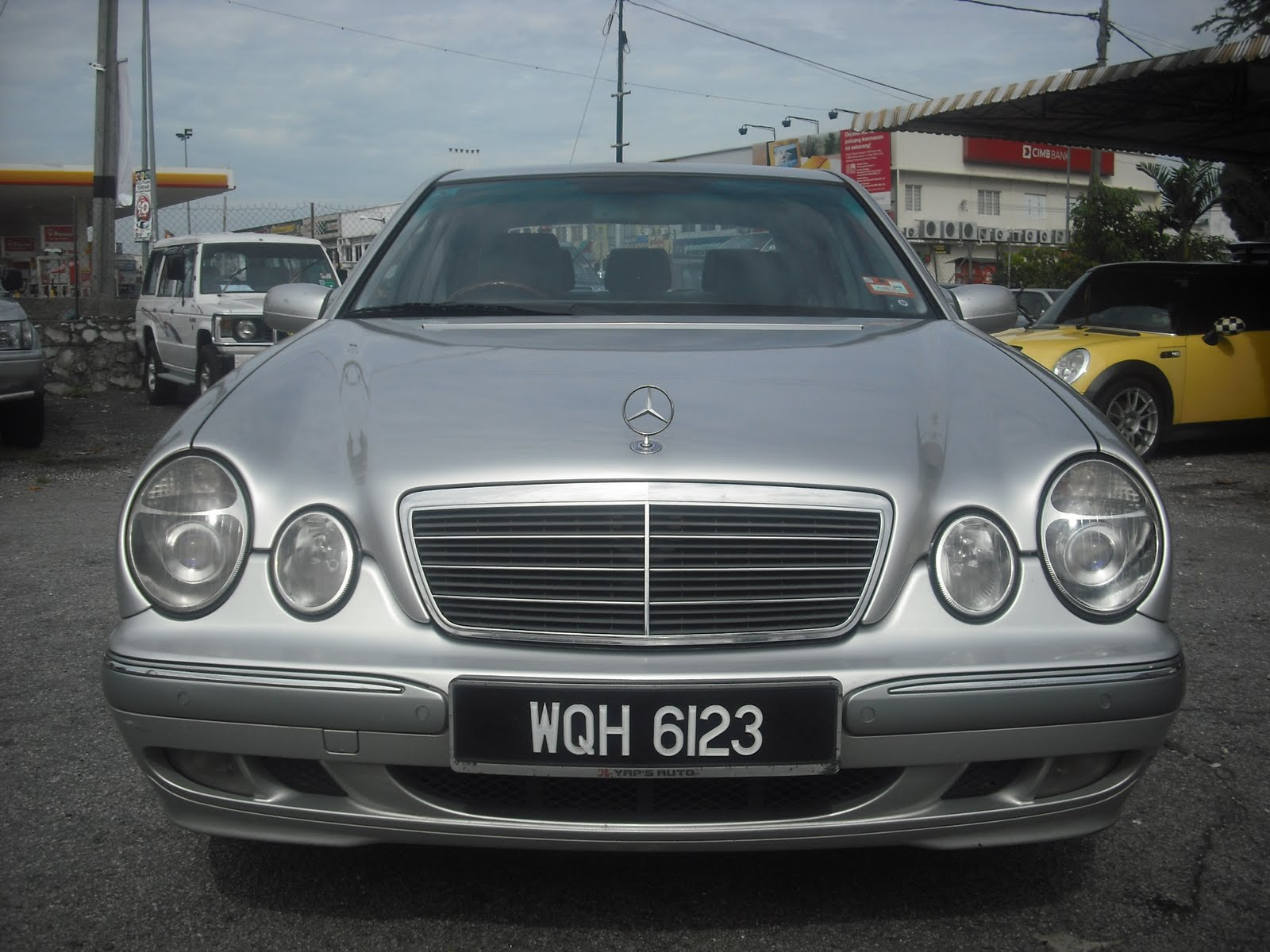 Top speed car mercedes benz e280 v6 a elegance w210 for Mercedes benz v6