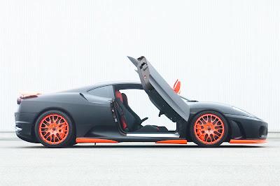 Ferrari Hamann F430 Black Miracle