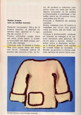casaco facil trico