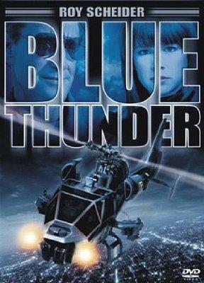 Filme Poster Trovão Azul DVDRip RMVB Legendado