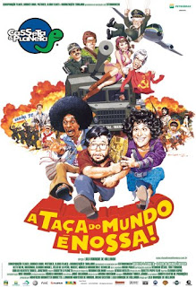 Filme Poster Casseta & Planeta - A Taça do Mundo é Nossa DVDRip XviD Nacional
